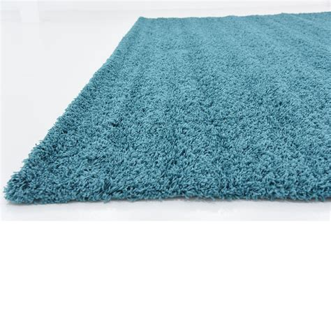 Shag Carpet Area Rug Aqua Blue 12 X 14 11 Solid Shag Modern Rugs Floor Carpet Area Rug