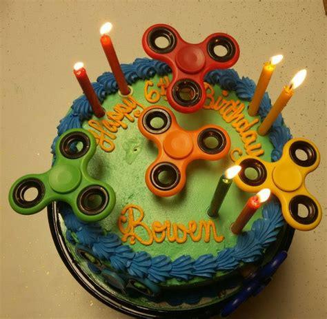 birthday spinner 11 best fidget spinner cake images on fidget