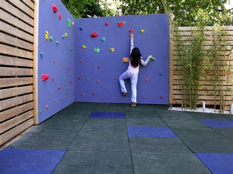 Backyard Climbing Wall by How To Create Unique Play Areas For Install It Direct