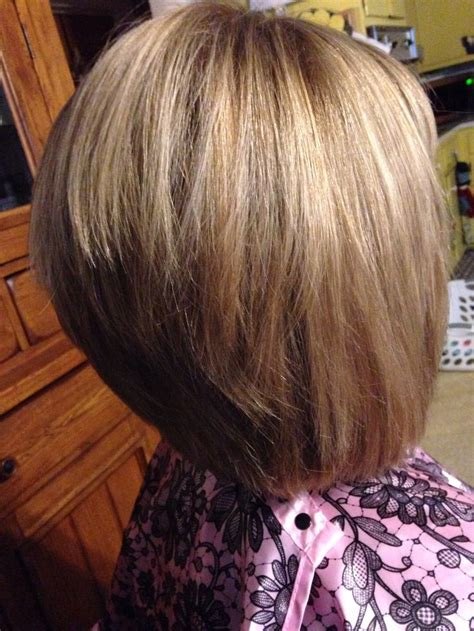 inverted bob hairstyles with back stacked inverted stacked bob short hairstyle 2013