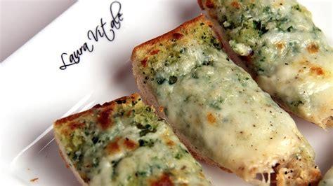 In The Kitchen Recipes by Cheesy Garlic Bread Recipe Vitale In The