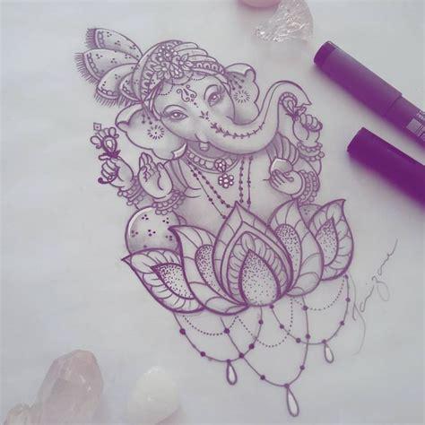 ganesh tattoo stencil 25 melhores ideias de tatuagem ganesha no pinterest