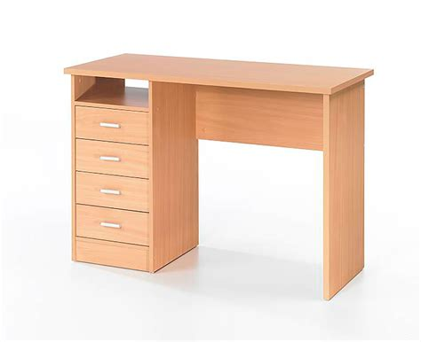 Office Desks With Drawers Wessex Home Office Desk With 4 Drawers Home Office Desks Desks Furniture Storage