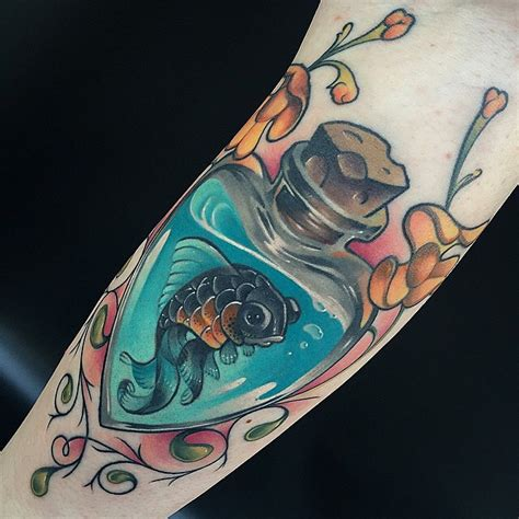 tattoo old school fish 55 creative fish tattoos