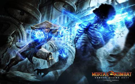 raiden  mortal kombat begins  wallpapers hd