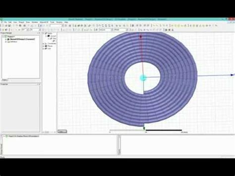 hfss spiral inductor tutorial ansys maxwell hfss how to model helix circular coil for wpt