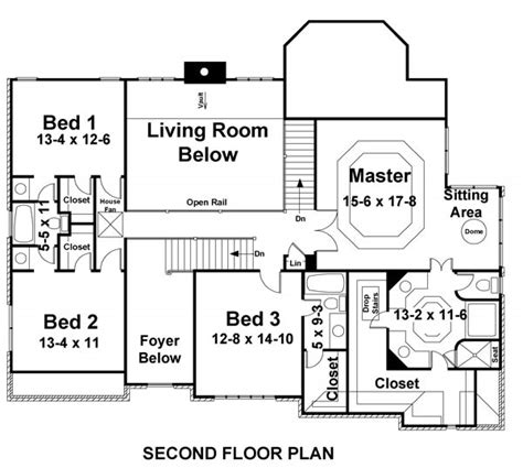 Arlington House Floor Plan | arlington 8001 5 bedrooms and 4 5 baths the house