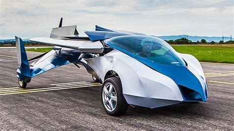 auto volante new flying car spreads its wings in slovakia gizmocrazed