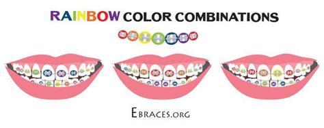 braces color combinations you don t to be a genius to choose braces colors