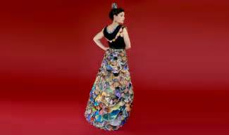 Non fabric dresses at womansday com dresses made of unusual
