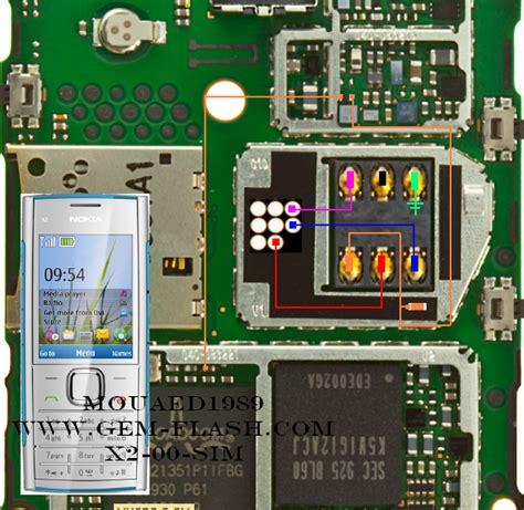 Ic Hp Nokia X2 nokia x2 00 insert sim solution jumper tips dan trik jumper hp