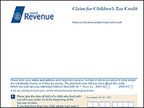 Child Tax Credit Application Form Uk News Business Reclaim Firms Rake In Customers