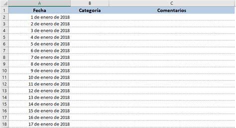Calendario Mensual 2018 Calendario 2018 En Excel Listo Para Imprimir Excel Total