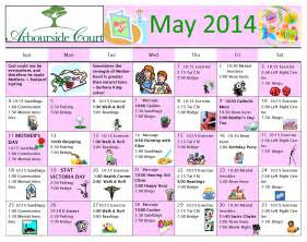 activity calendar template for seniors free printable calendar for elderly search results