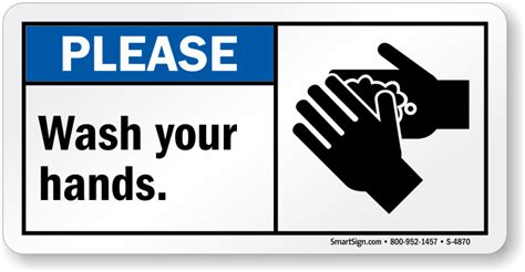 bathroom signs wash your hands please wash your hands sign with graphic free pdf sku s 4870