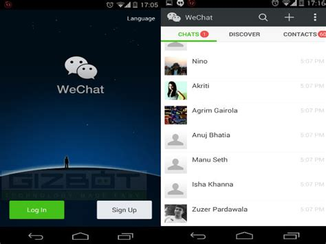 wechat for android image gallery wechat android