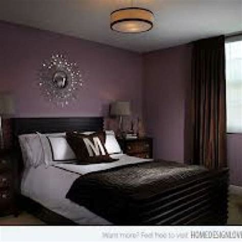 brown and purple bedroom purple chocolate brown decor home pinterest brown