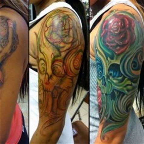 tattoo cover up ideas upper arm upper arm cover up tattoos memes