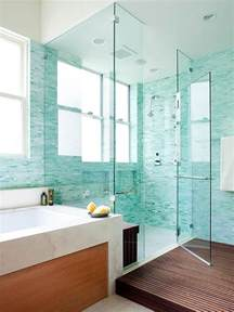Design For Turquoise Glass Tile Ideas 50 Awesome Walk In Shower Design Ideas Top Home Designs