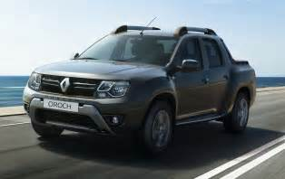 Renault Dustar This Is Renault S New Duster Oroch Small Truck