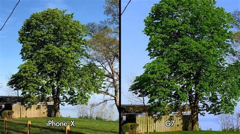iphone  camera compared  lg  thinq camera macrumors