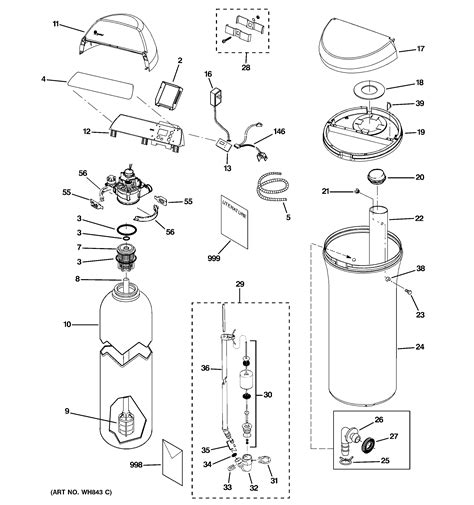 kinetico water softener parts diagram get 100 mach 2030s kinetico commercial water softener