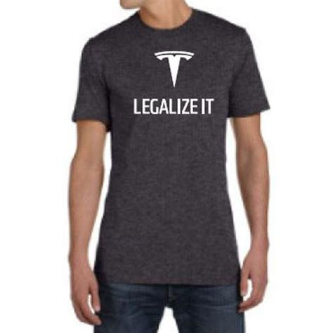 Tesla Tshirt Tesla Legalize It T Shirt Border Jumpers