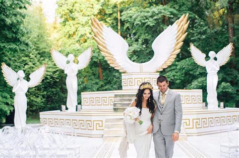 wedding of the gods the wedding in the style of hockey player radulov and