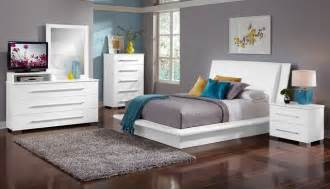 Bedroom Products by The Dimora White Bedroom Collection Modern Bedroom