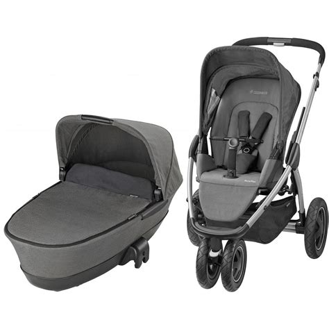 maxi 3 in 1 set maxi cosi mura plus 3 in 1 pram available at w h watts