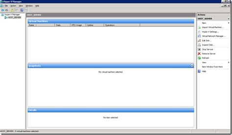 hyper v console windows 7 running whs on server 2008 hyper v part 2