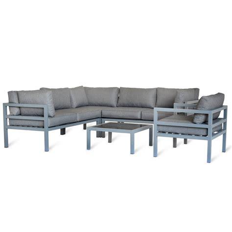 outdoor corner sofa set outdoor corner sofa set by idyll home notonthehighstreet com