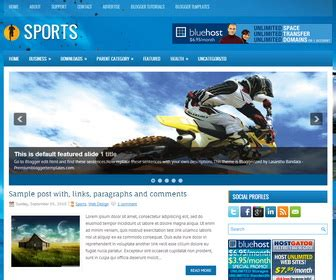 templates for blogger sports sports blogger template blogger templates 2018