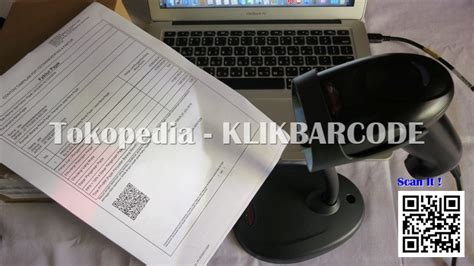 Scanner 1d 2d Qr Barcode Scanner Kantor Efaktur Solution Bs 300 jual efaktur barcode scanner 2d honeywell voyager 1450 g