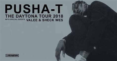 sheck wes tour pusha t announces daytona tour with valee and sheck wes