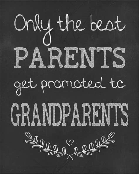 printable grandparent quotes grandparent wall art chalkboard print your own by