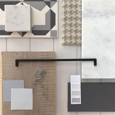 deco interior color palette creating a neutral grey interior colour palette