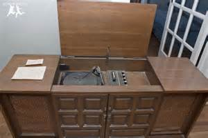 Under The Cabinet Kitchen Radio updating restoring an old stereo console diy part 1
