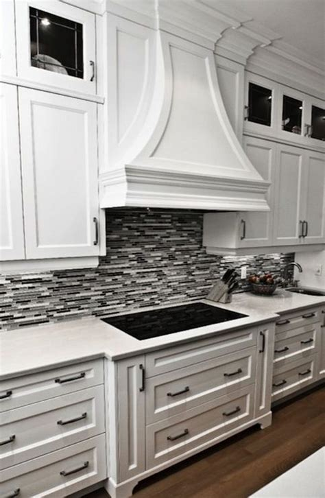 black and white tile kitchen backsplash 35 beautiful kitchen backsplash ideas hative
