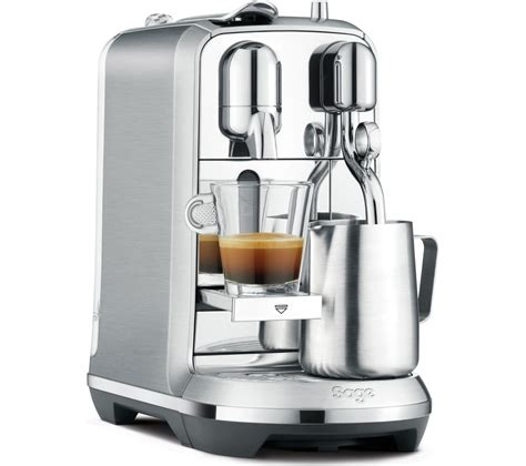 A Machine buy nespresso by creatista plus bne800bss coffee