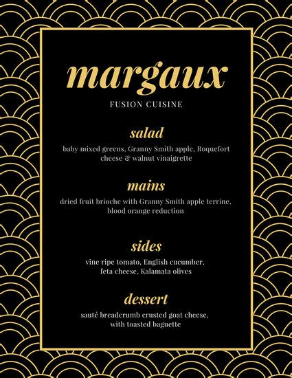 fancy restaurant menu template customize 70 fancy menu templates canva