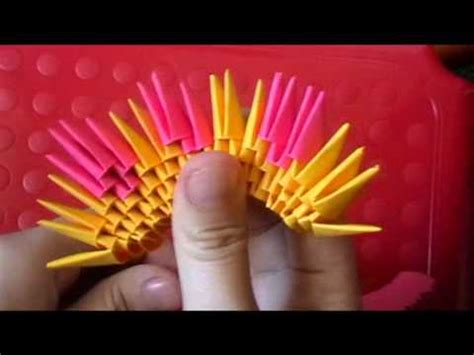 3d origami ship tutorial 3d origami dragon boat youtube