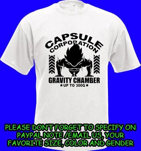 Hoodie Gravity Chamber capsule corp z insaiyan vegeta gravity