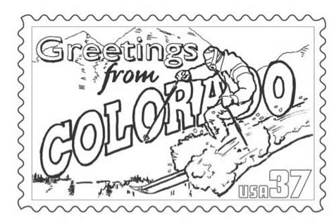 cheap colorado state st coloring page with colorado