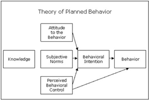 Good Job Resume Examples by Theory Of Planned Behavior Ajzen Definition Human