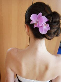 Wedding Hair With Orchids by Hairstyle With Orchid On Orchids Wedding Updo