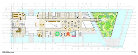 piano floor plan gallery of muse renzo piano 15