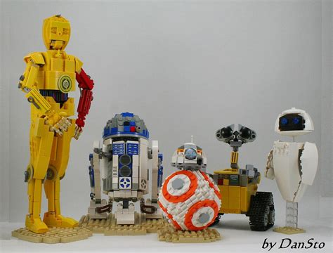 lego bb8 moc bb8 mid size and friends lego wars