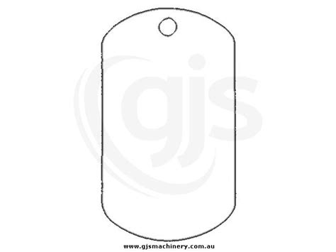 dog tags id pendants charms white sublimation metal
