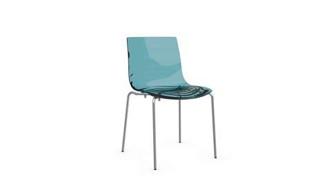 non sedie sedia l eau di calligaris in metallo e tecnopolimero in